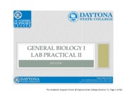 General Bioloogy Manual 2