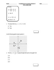 Pre-Calc 10 More Practice With Linear Equations