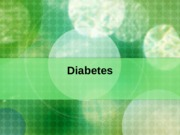 BIO 161 - Lecture 11 - Diabetes and Obesity-2