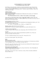 Quick Reference Citations Format