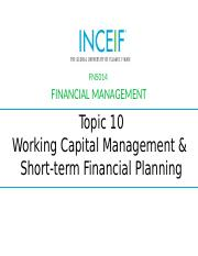 Working Capital  Short Term Financing-Sep 16.pptx