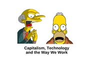 9  Technology, Capitalism and the Way we Work