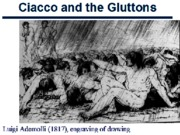 Ciacco and the Gluttons