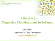 Chapter5. Cognitive Development in Infancy(cyber)