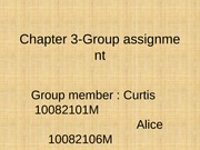 group 1 - chapter 3 -assignment 1