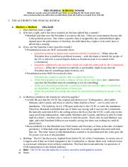Con Law I Outline - The Federal Judicial Power - Kang.doc