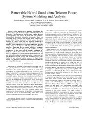 Renewable Hybrid Stand-alone Telecom Power System Modeling and Analysis.pdf