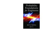Probability Foundations for Eng -Nachlas