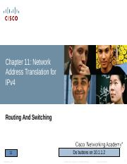 CCNA 2 RS PPT_Chapter 11