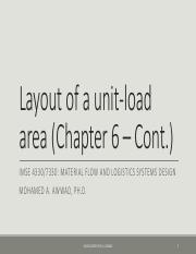 10 Layout of a Unit-load area - Part 2.pdf