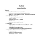 lecture 7 outline