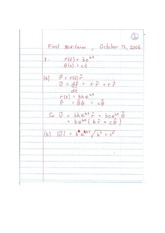 Phys 341 Midterm Solution