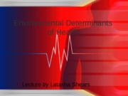 Environmental Determinants of Health UPDATED (1)