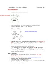 2a -  Phytic acid Nut Tid Bit