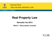 TABL 2792_week 2_property law concepts