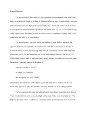 macaulay honors essay