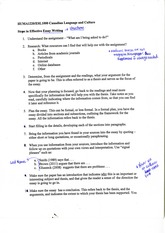 steps in effective essay writing