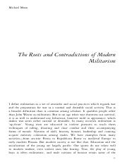The Roots and Contradictions of Modern Militarism.pdf