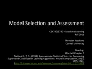 05 Model Selection and Assessment