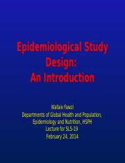 4 - SLS19_Fawzi_Study Design in Epidemiology - for website.pptx