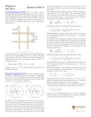 PHYS 21 Fall 2014 Homework 14 Solutions