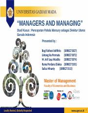 BMN - MANAGERS AND MANAGING.pptx