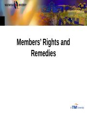 123677_7 Member Rights & Remedies