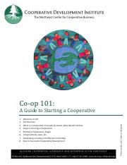 guide to starting a cooperative