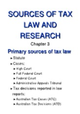 Sources of tax law and research[rtf]