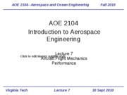 Lecture 7-Aircraft Performance 1