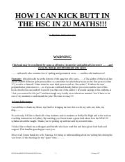 2U HSC questions by topic 1990-2006.doc