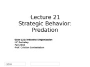 Lecture21_Predation_Econ121_Fall2010 (2)