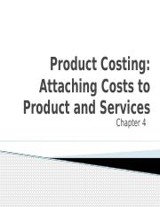chapter 4 mgt.acctg Product-Costing-1
