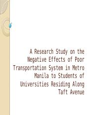 A Research Study on the Negative Effects of.pptx