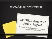 APUSH-Review-Dred-Scott-v.-Sanford
