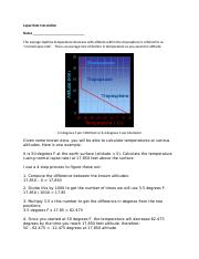 Lapse Rate Calculation(1).doc