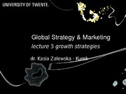 GSM - Lecture 05 (09.12.2014)
