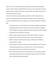 loss and isolation themes of frankenstein essay