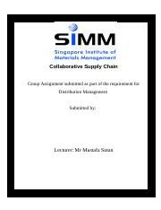 Collaborative Supply Chain Effort (2 organisations).doc