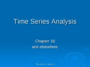 time series 1 indexing ppt