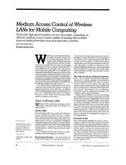 MAC for Wireless LN_Mobile Computing