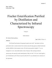synthesis of isopentyl acetate via fischer Titration & karl fischer  348430 - isopentyl acetate email this page to a friend  chemical synthesis, chromatography, analytical and many others .