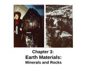 Chapter 3 - Earth Materials