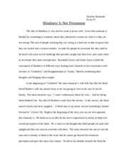 Essay 1 - Comparing Two Reads