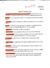 Chapter 5 Medical Terms