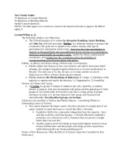 Posi 2310 test two study guide