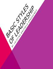 BASIC STYLES OF LEADERSHIP.pptx