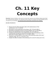 Ch 11 Objectives%2FKey Concepts-The Americas.docx