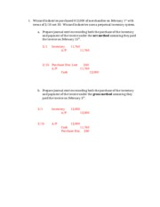Chapter 8 - Additional Practice Problems - Solutions