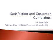 19 Satisfaction and Customer Complaints nov 20 (1)